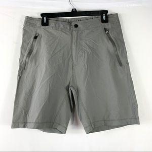 Mack Weldon Shorts Mens Size Medium Gray